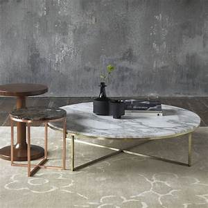 porto round marble coffee table With large round marble coffee table