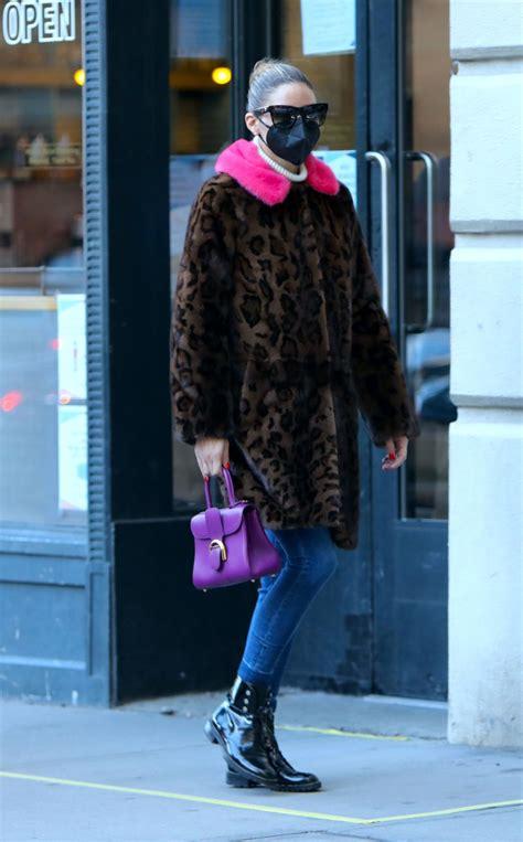 Olivia Palermo Out in NYC - Celebzz - Celebzz