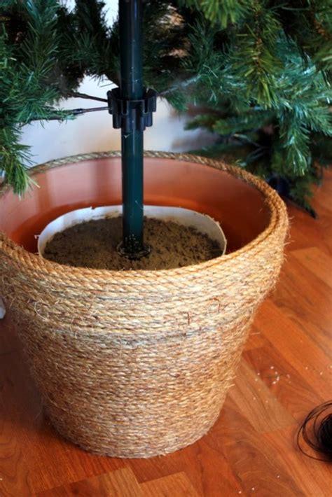 creative christmas tree stand diy ideas hative