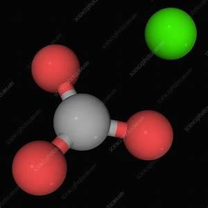 Calcium Carbonate Molecule - Stock Image F004  5586