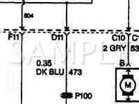 2000 Alero Cooling Fan Wiring Diagram