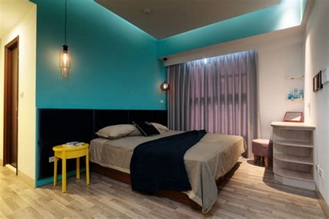 chambre turquoise et noir chambre à coucher adulte 120 idées de designs modernes