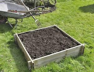 Bac En Bois Pour Potager : le potager en bac vid o et conseils de jardinage la ~ Dailycaller-alerts.com Idées de Décoration