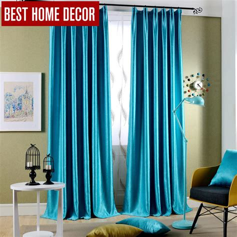 aliexpress buy best home decor drapes window blackout curtains for living room the bedroom
