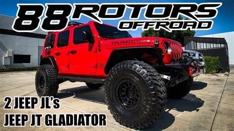 jeep wrangler jl rubicon willys edition jt gladiator   youtube