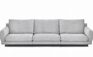elle 3 seat deep depth sofa hivemoderncom With sectional sofa depth