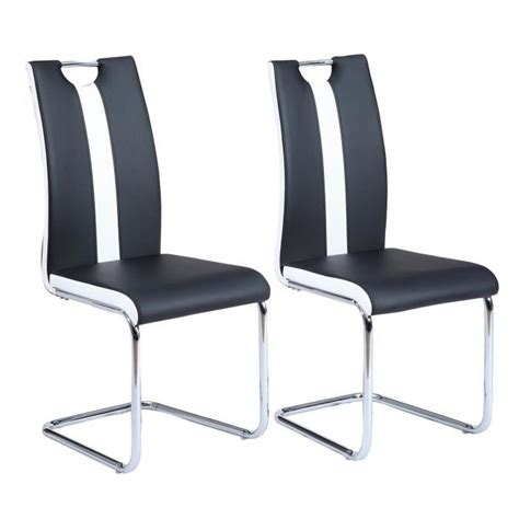 chaises cdiscount chaises noir achat vente chaises noir pas cher les