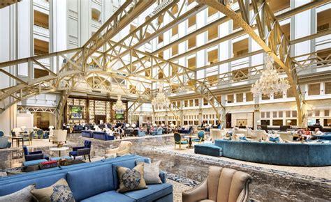 washington dc trump bar hotel star international hotels benjamin lounge lobby