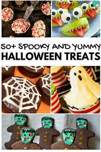 50+ Spooky & Fun Halloween Snacks for Kids - This ...