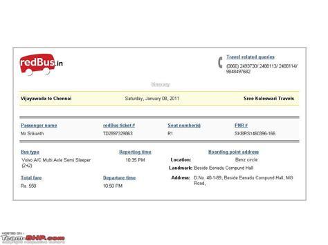 intercity bus travel reviews page  team bhp