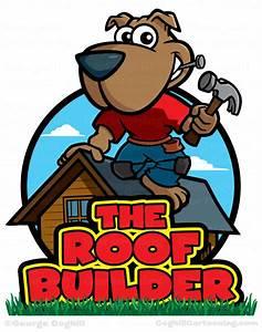 Carpenter Dog Cartoon Logo - The Roof Builder • Coghill