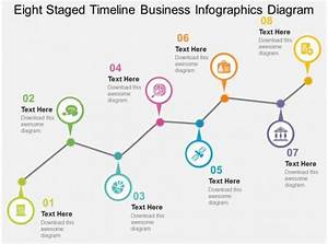Cb Eight Staged Timeline Business Infographics Diagram