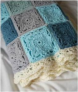 Willow Square Crochet Blanket  U2013 Free Tutorial And Diagram Pattern