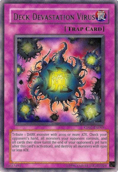deck devastation virus errata card errata deck devastation virus yu gi oh