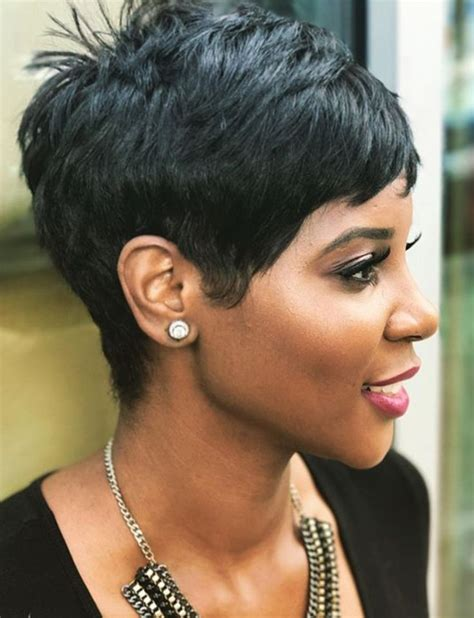 Black Pixie Hairstyles by 25 Best Ideas About Black Haircuts On
