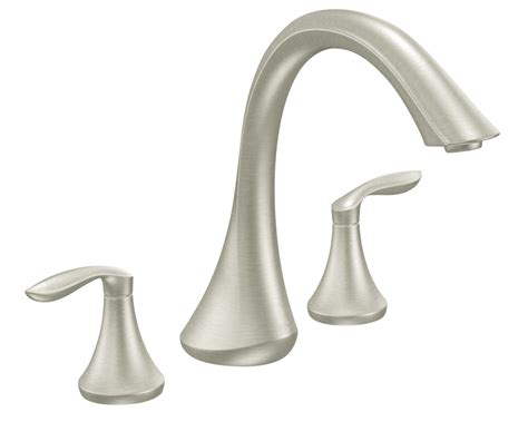 Moen Faucet by Moen Two Handle High Arc Tub Faucet Without
