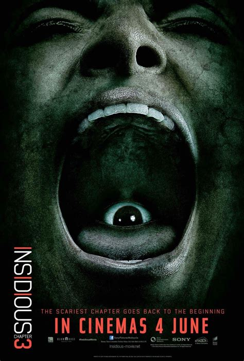 New INSIDIOUS: CHAPTER 3 Clip and 5 Posters | Insidious ...