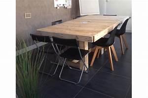Table à Manger 10 Personnes : tables salle manger 10 personnes la vie du bois bordeaux ~ Teatrodelosmanantiales.com Idées de Décoration
