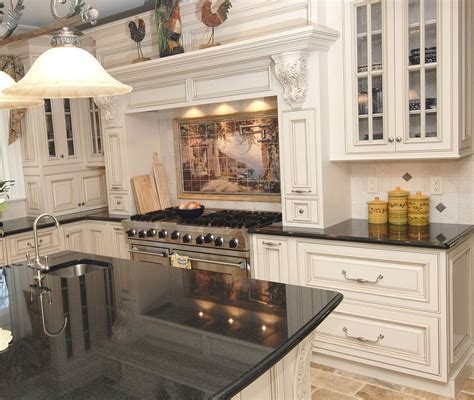 distressed white cabinets 25 traditional kitchen designs for a royal look