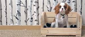 Panier Pour Petit Chien : diy pour fabriquer une petite corbeille pour chien en palette lit pour chien ~ Teatrodelosmanantiales.com Idées de Décoration