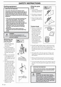 Husqvarna 225r 232r 235r Rd Rj Chainsaw Owners Manual