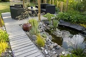 Gartengestaltung Mit Teich : 30 gartengestaltung ideen der traumgarten zu hause ~ Markanthonyermac.com Haus und Dekorationen