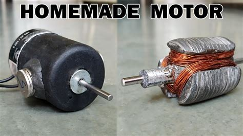 Electric Motor by How To Make An Electric Motor At Home