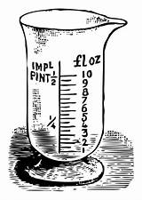 Measuring Cup Coloring Printable sketch template