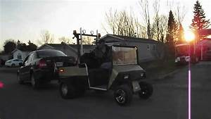 Golf Cart Tow Truck Ezgo Gas Part 2