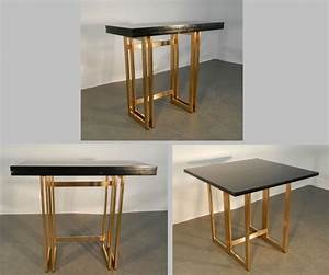 Console Transformable En Table : 17 best images about tables design vintage on pinterest ~ Teatrodelosmanantiales.com Idées de Décoration