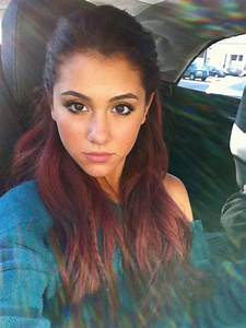 Ariana Grande Natural Hair Color In 2016 Amazing Photo