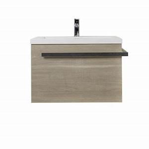Meuble Sous Vasque 70 Cm : meuble sous vasque belice 70 cm castorama ~ Teatrodelosmanantiales.com Idées de Décoration