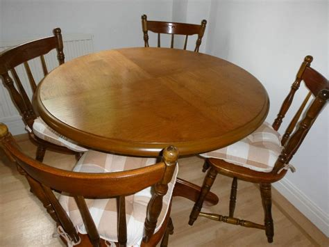 Kitchen Table And Chairs Gumtree Tyne And Wear by Four Seat Country Style Kitchen Table And Chairs In