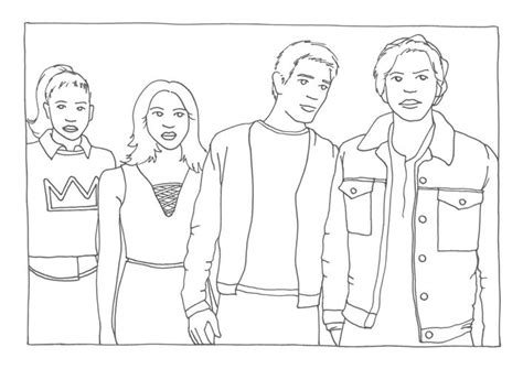 riverdale coloring pages goodmorningwishes