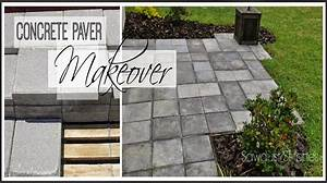 Paver Patio Makeover