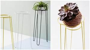 Porte Plante Interieur Design : pour nos jolies plantes aventure d co ~ Teatrodelosmanantiales.com Idées de Décoration