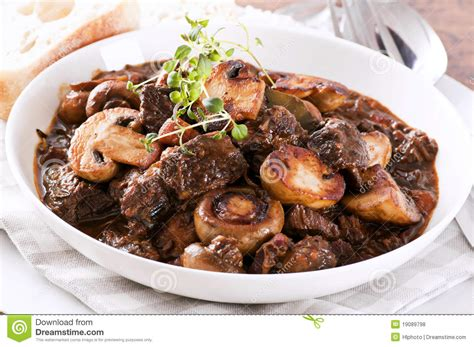 cuisine boeuf bourguignon boeuf bourguignon stock photo image of food