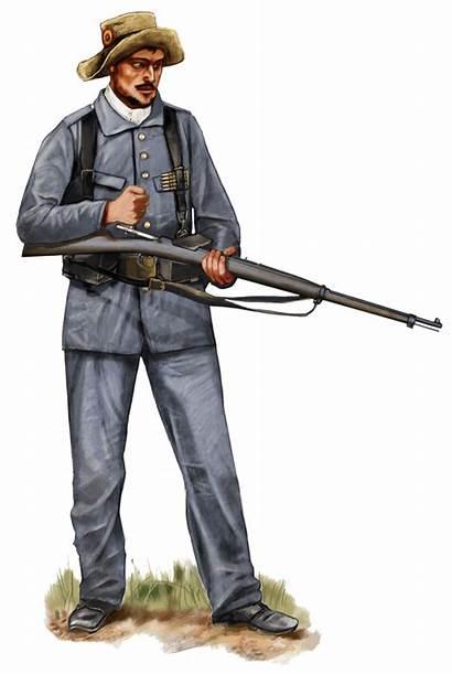 Spanish Uniform Rayadillo 1898 Soldier Spaniard Colonial