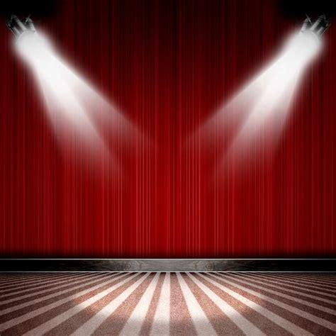 xft dark red curtain drape spotlight stage stripes