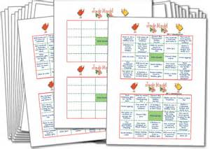 jingle mingle adult and office christmas party games printable party games