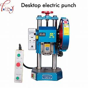 Small Professional Desktop Electric Punch Manual Operation