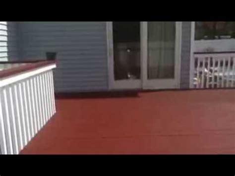 deck restore coating youtube