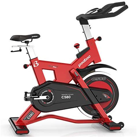 Bicycle Bike pooboo Pro Indoor Cycling Bike, Belt Drive ...