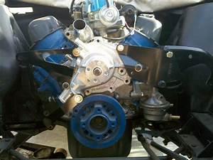 Lelu U0026 39 S 66 Mustang  Harmonic Balancer Installed