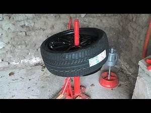 Changer Un Seul Pneu : d monte pneu manuel manual tire changer vid o 2 youtube ~ Gottalentnigeria.com Avis de Voitures