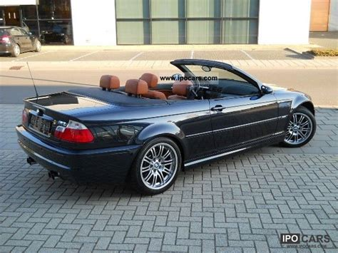 2002 Bmw M3 Specs by 2002 Bmw M3 M3 Convertible Automaat Car Photo And Specs