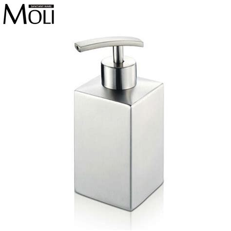 stainless steel sink soap dispenser soap dispensers for kitchen sink chrome finish soap