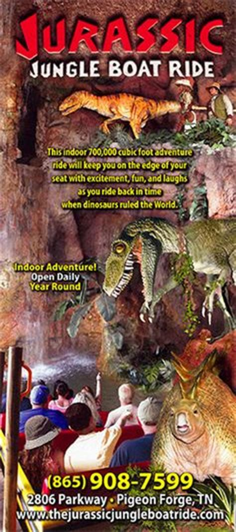 Pigeon Forge Jurassic Jungle Boat Ride Ticket Prices by Jurassic Jungle Boat Ride This Ride Is And Exciting