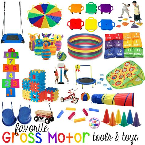 gross motor toys and tools for indoor and outdoor recess 102   Favorite Gross Motor Cover V2