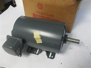 Ge 5k49tg8004 3hp Electric Motor 230  460v 3ph 7  8